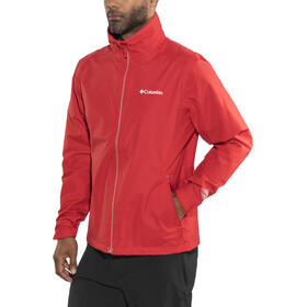 Columbia Bradley Peak Jas Heren, red spark